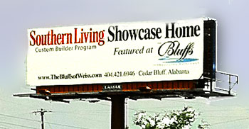 Southern Living Showcase Home Billboard