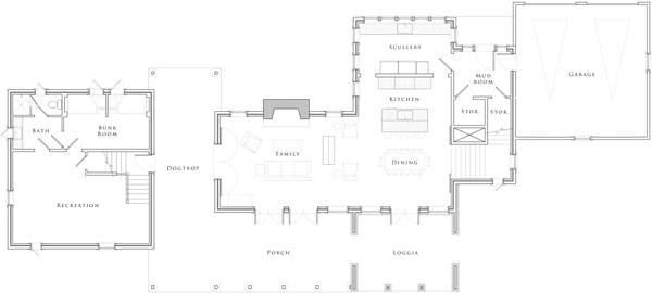 Dogtrot House Plans Dog Trot House Plans Southern Living Uk Modern ...